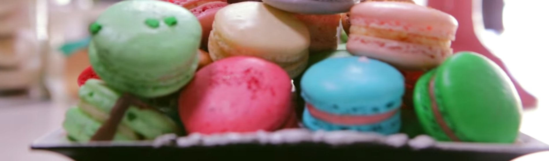 Macaroons in Downtown Brampton