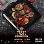 Downtown Brampton Launches the TASTE of Brampton