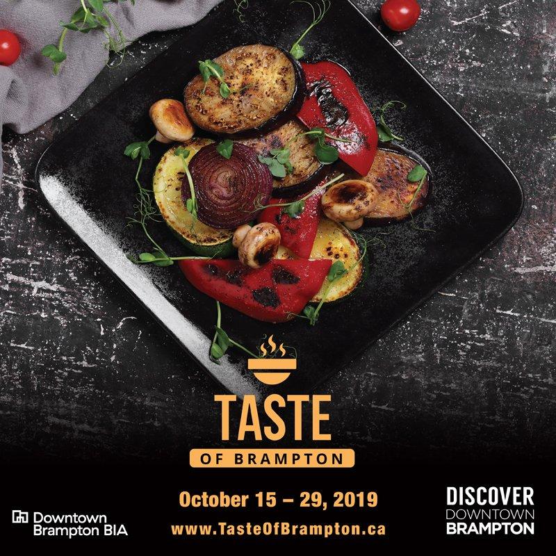 Taste of Brampton October 15-29