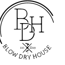 blow dry house logo